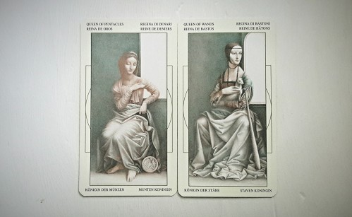 Queen of Pentacles/Queen of Wands